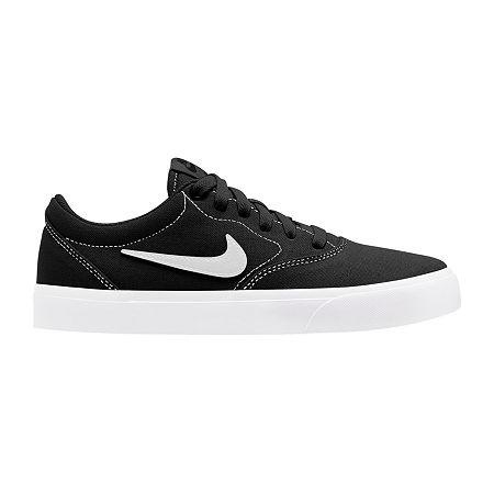 Nike Canvas Womens Skate Shoes, 7 1/2 Medium, Black