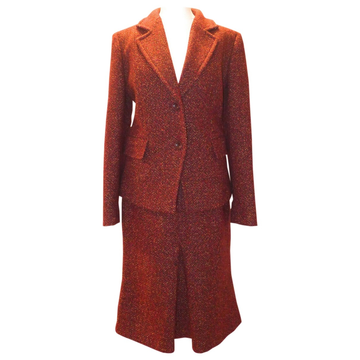 Max Mara \N Red Wool jacket for Women 8 UK