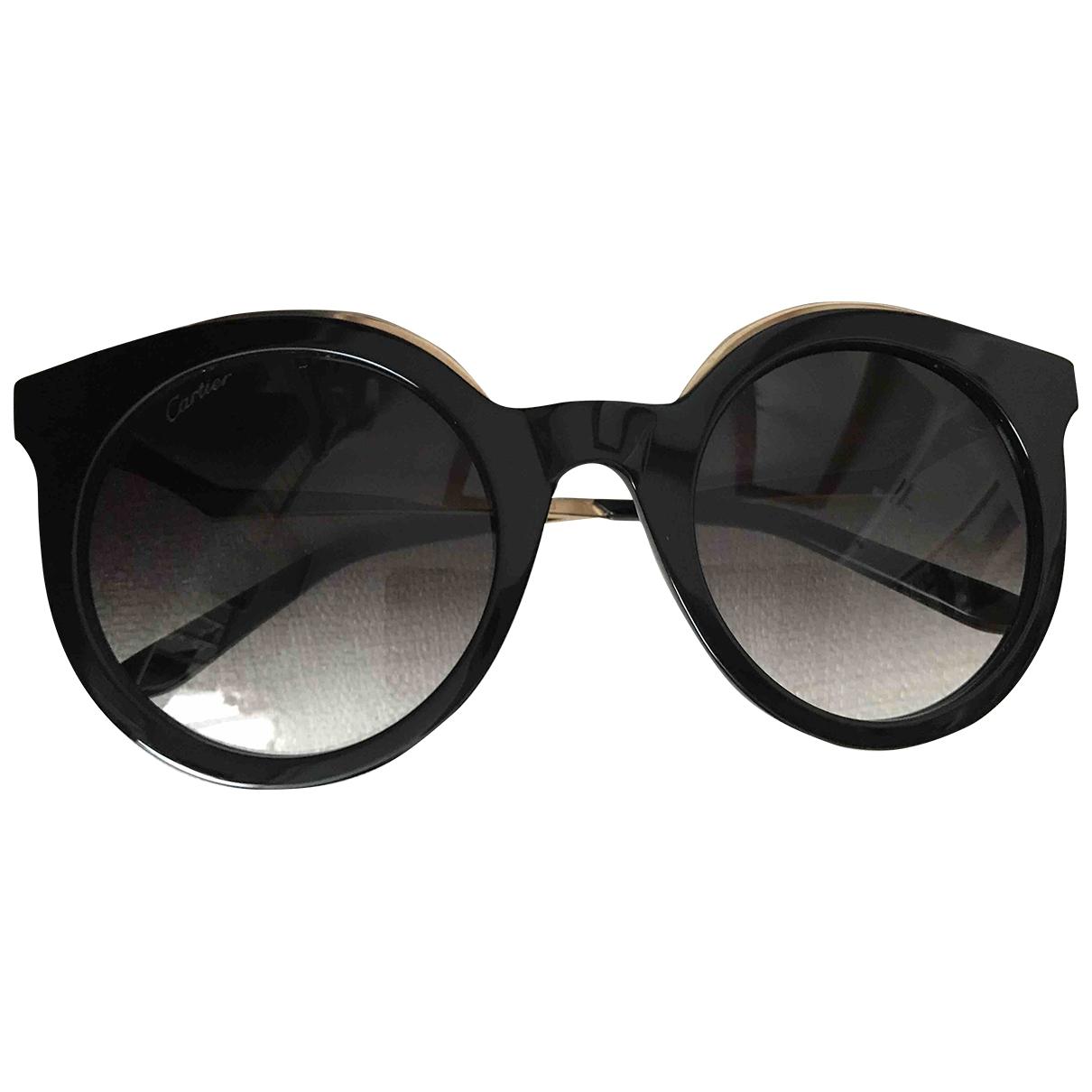 Cartier \N Black Sunglasses for Women \N