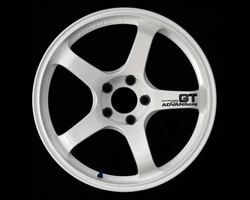 Advan GT Wheel 19X9 5x120 +20mm Racing White
