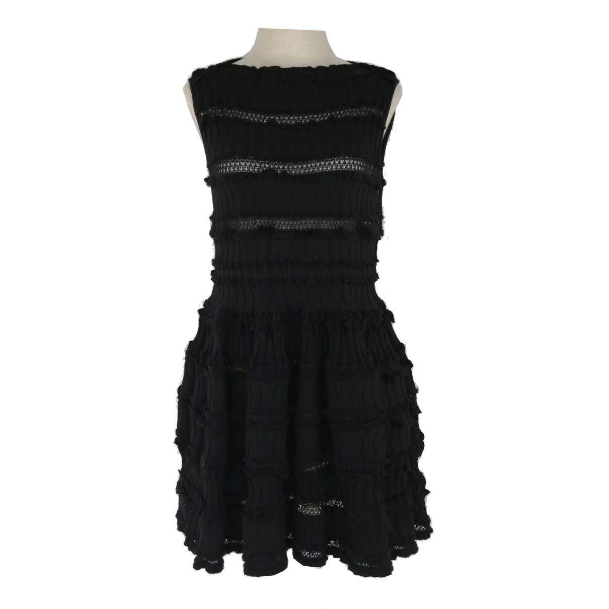 Alaïa \N Black Wool dress for Women 40 FR