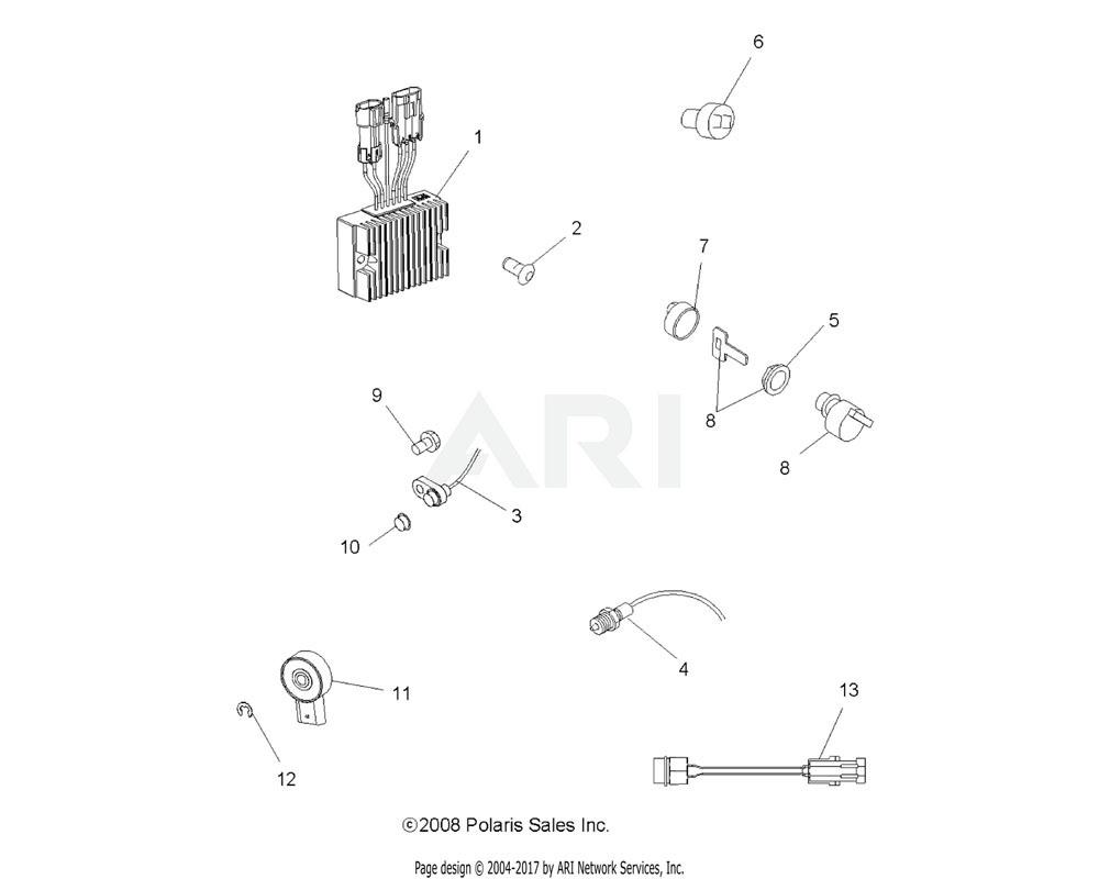 Polaris OEM 4010298 Sensor, Hall Effect