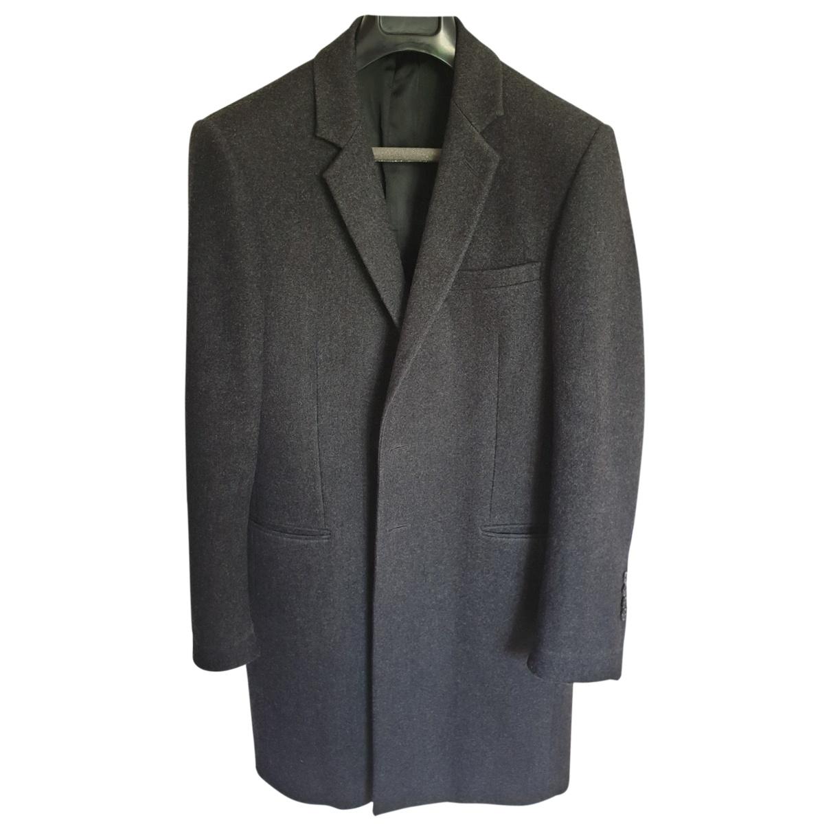 Dior Homme \N Grey Wool coat  for Men 50 FR