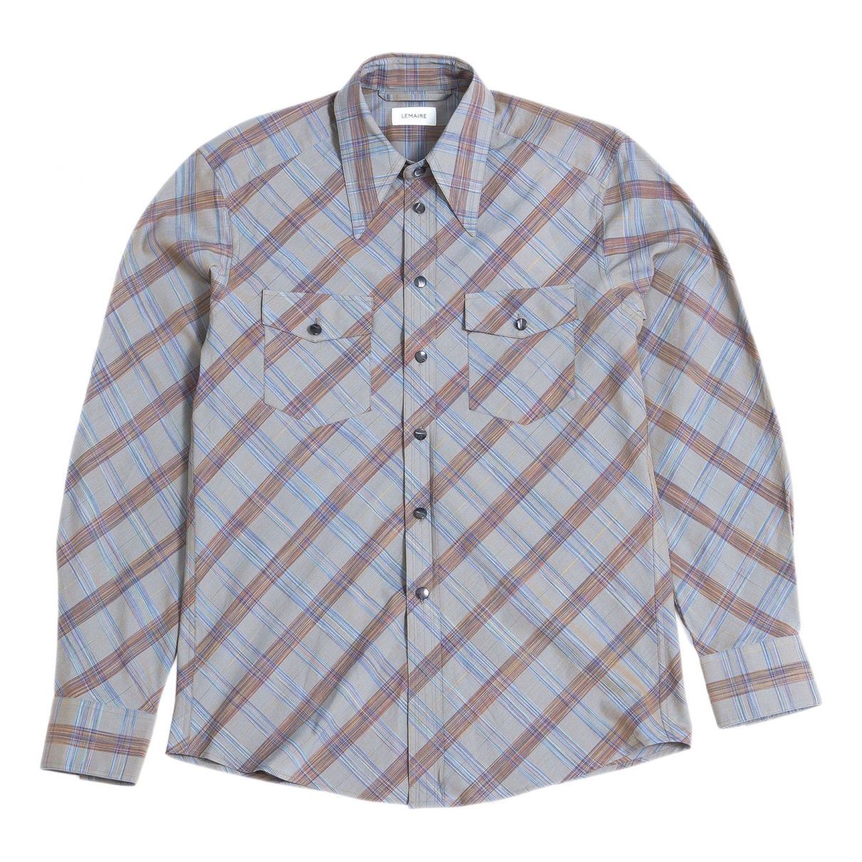 Lemaire \N Grey Cotton Shirts for Men S International