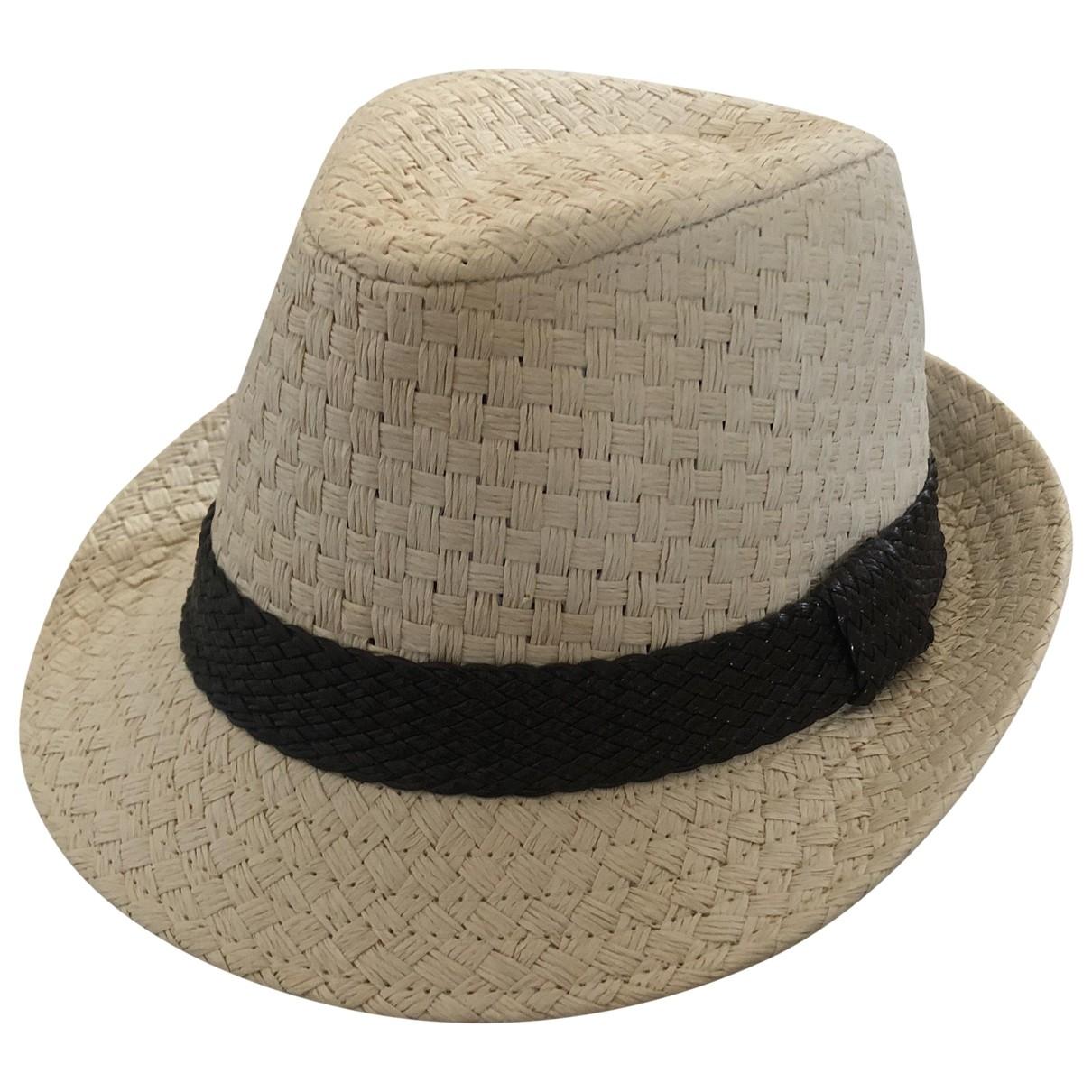 Non Signé / Unsigned \N Beige hat for Women 58 cm