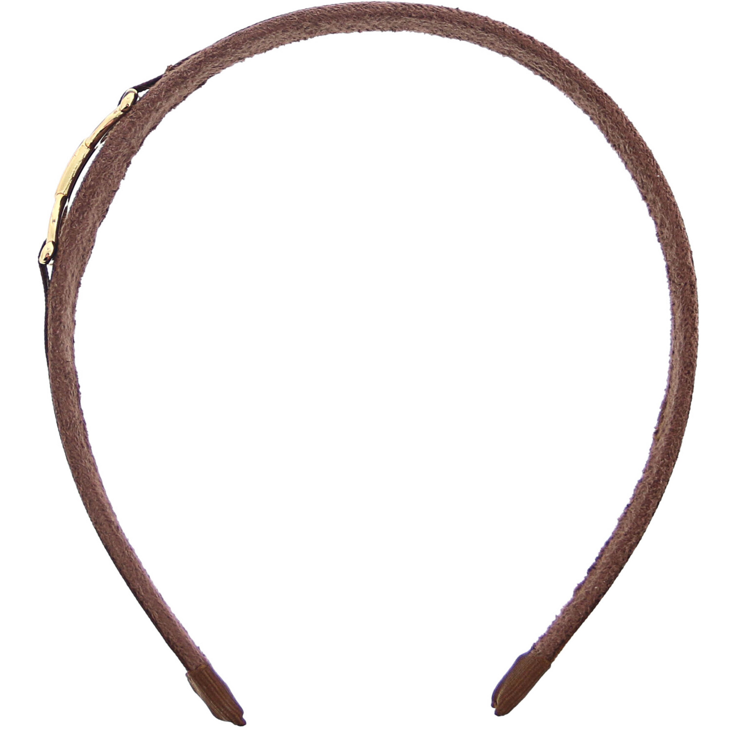 Janie And Jack Girl's Bridle Headband Hair Accessory - One Size - Brown