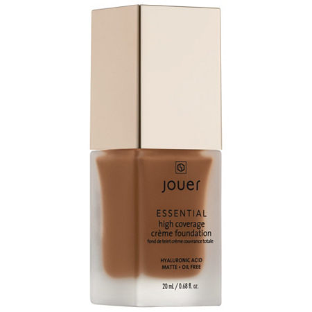 Jouer Cosmetics Essential High Coverage Crème Foundation, One Size , Beige