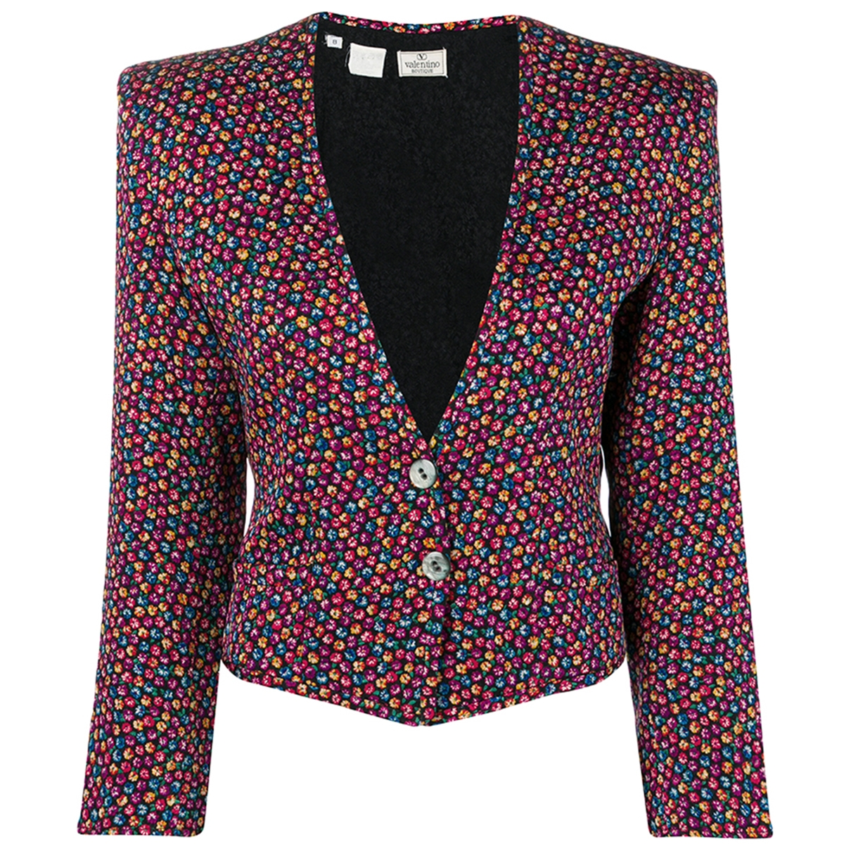 Valentino Garavani \N Multicolour Cotton jacket for Women 8 US