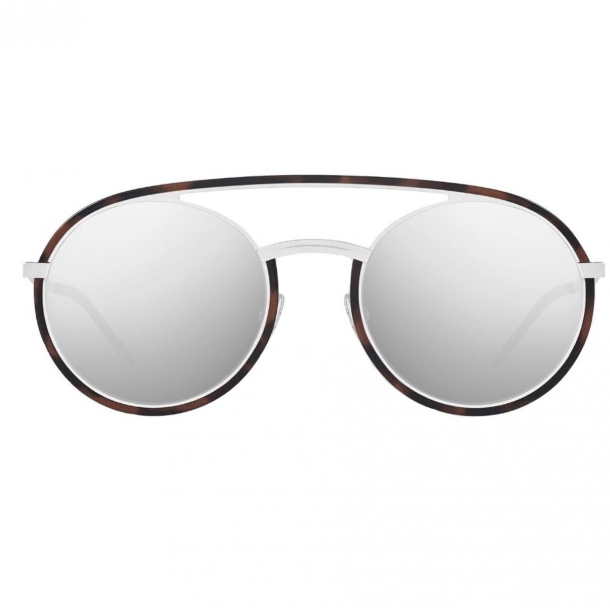 Dior \N Brown Metal Sunglasses for Men \N