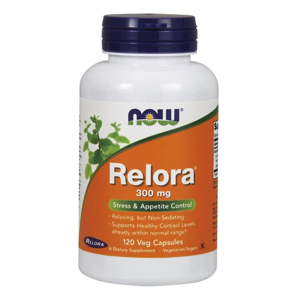 Relora 120 Vcaps by Now Foods