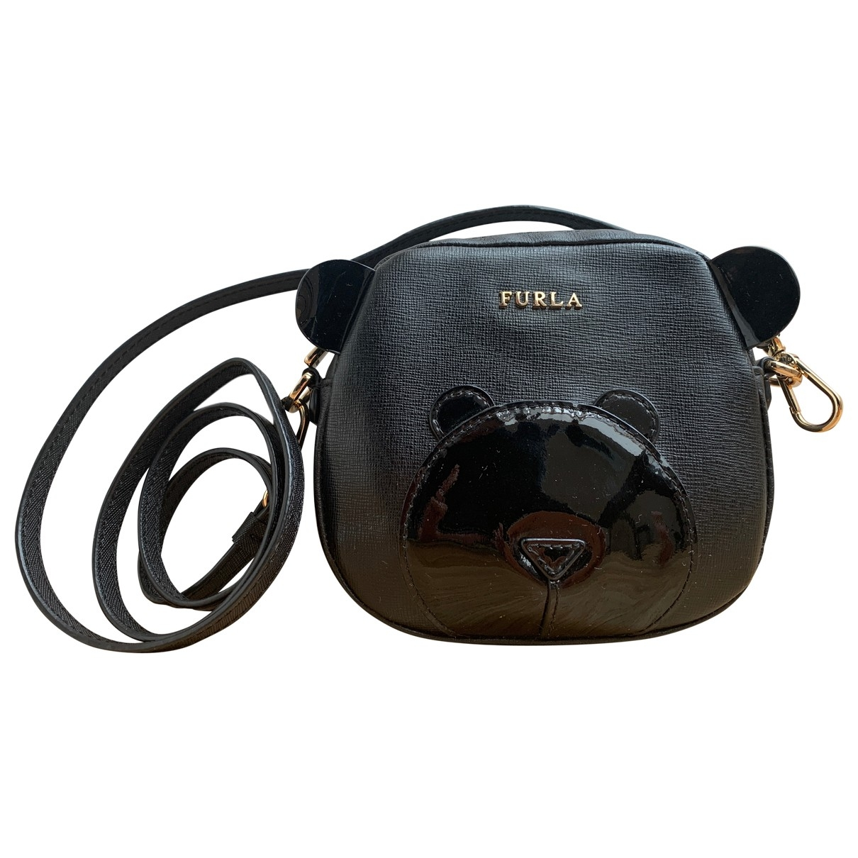 Furla \N Black Leather handbag for Women \N