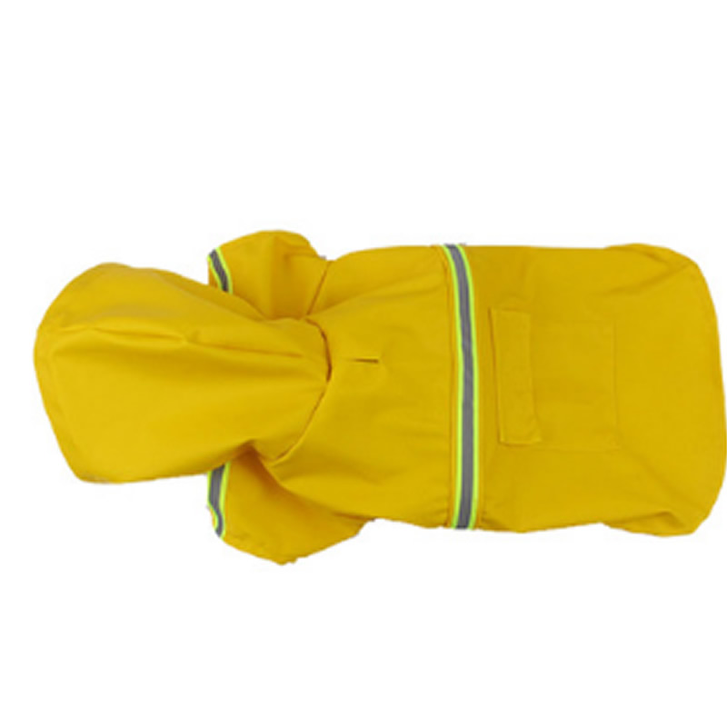 Large Dog Raincoat Adjustable Pet Water Proof Clothes Lightweight