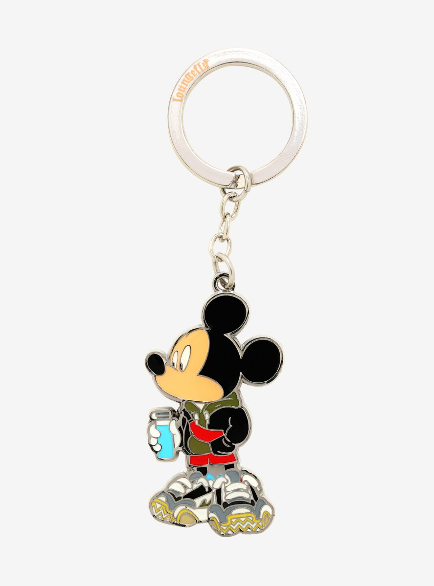 Loungefly Disney Mickey Mouse Streetwear Enamel Keychain - BoxLunch Exclusive