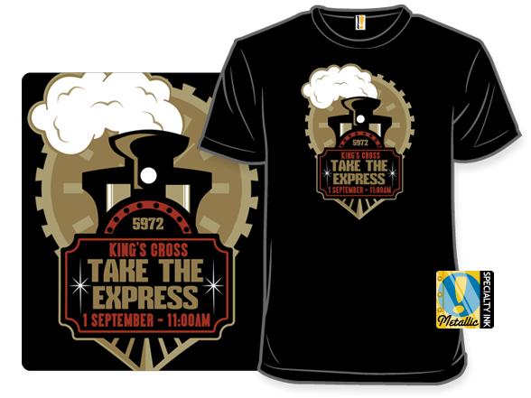 Ride The Magic Rails T Shirt