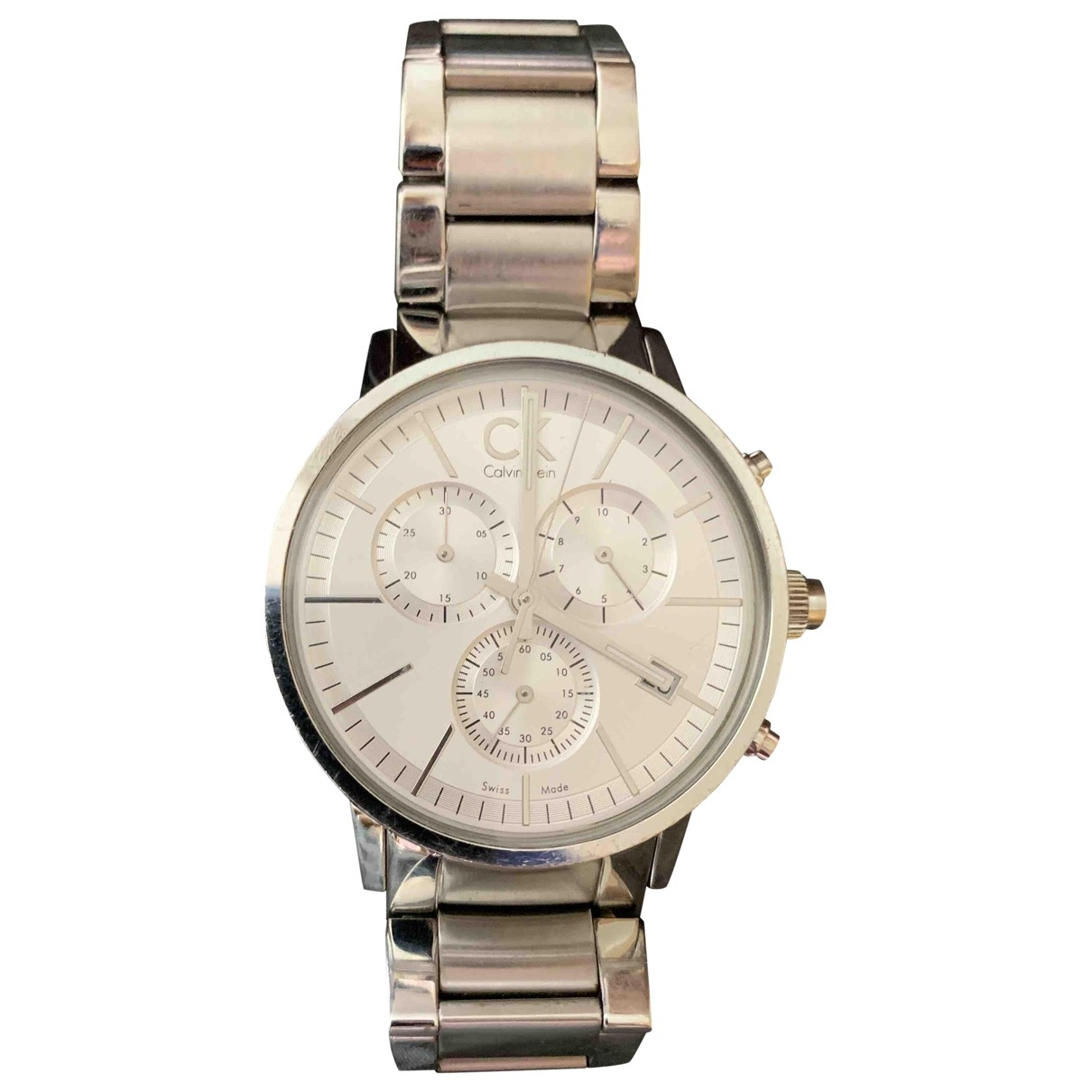 Calvin Klein \N Silver Steel watch for Women \N