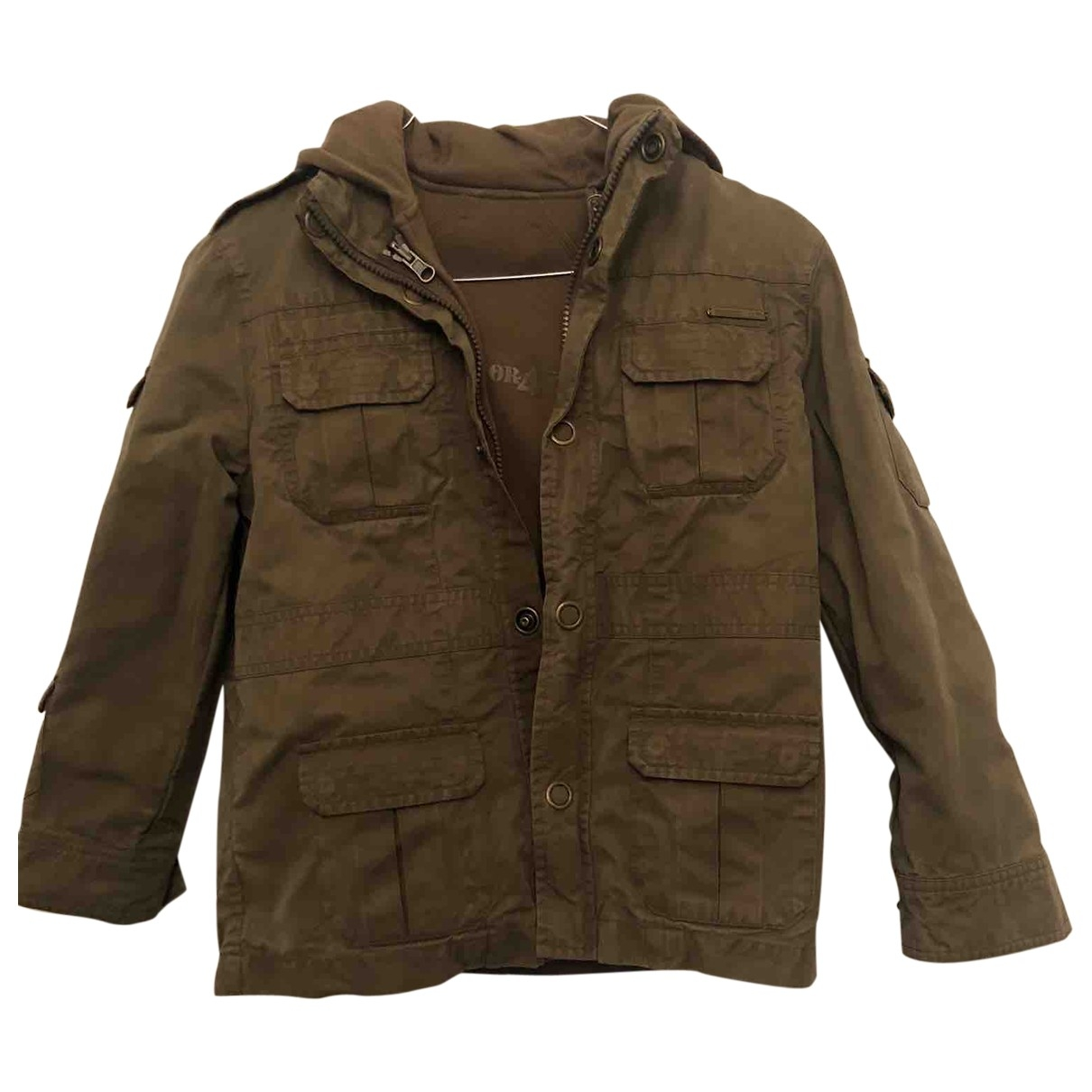 Dior \N Khaki Cotton jacket & coat for Kids 8 years - up to 128cm FR