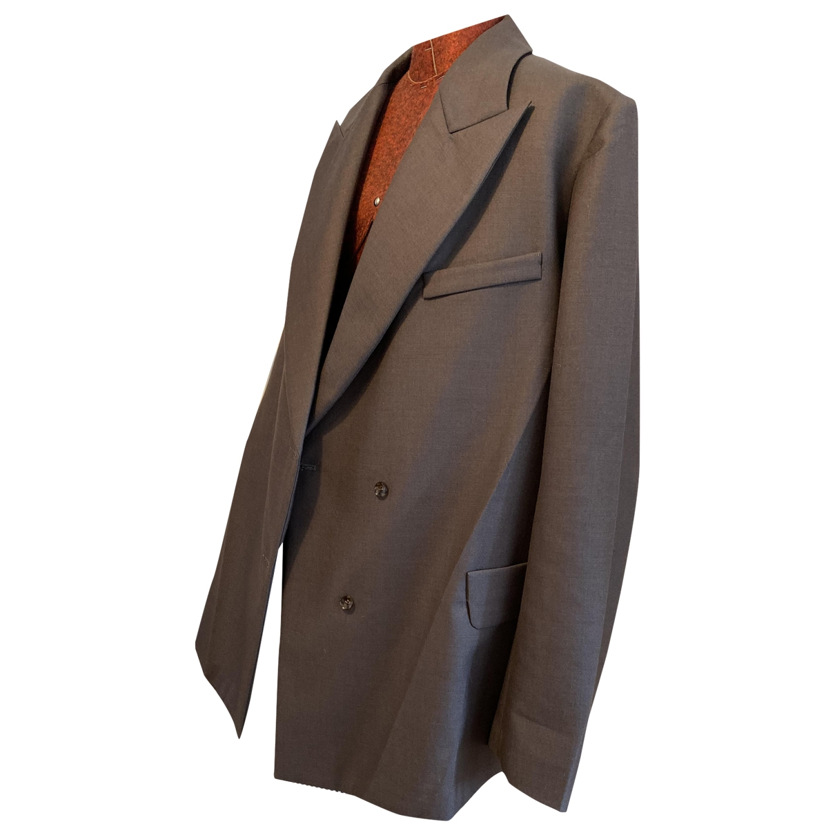 Opening Ceremony \N Brown Wool jacket for Women 38 FR