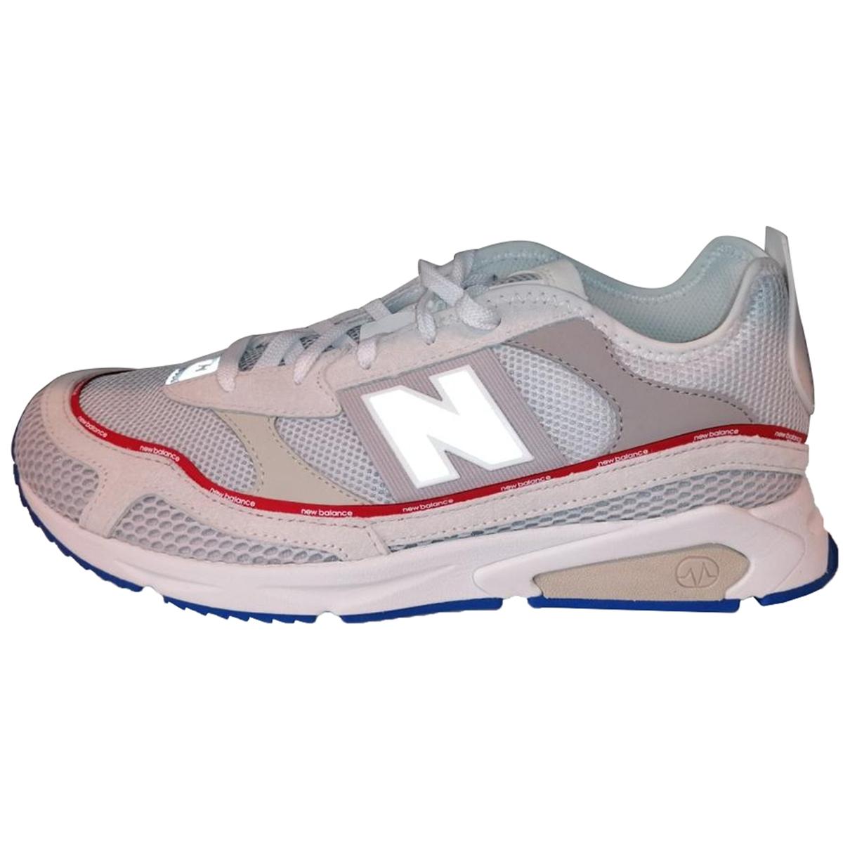 New Balance \N White Cloth Trainers for Men 46.5 EU