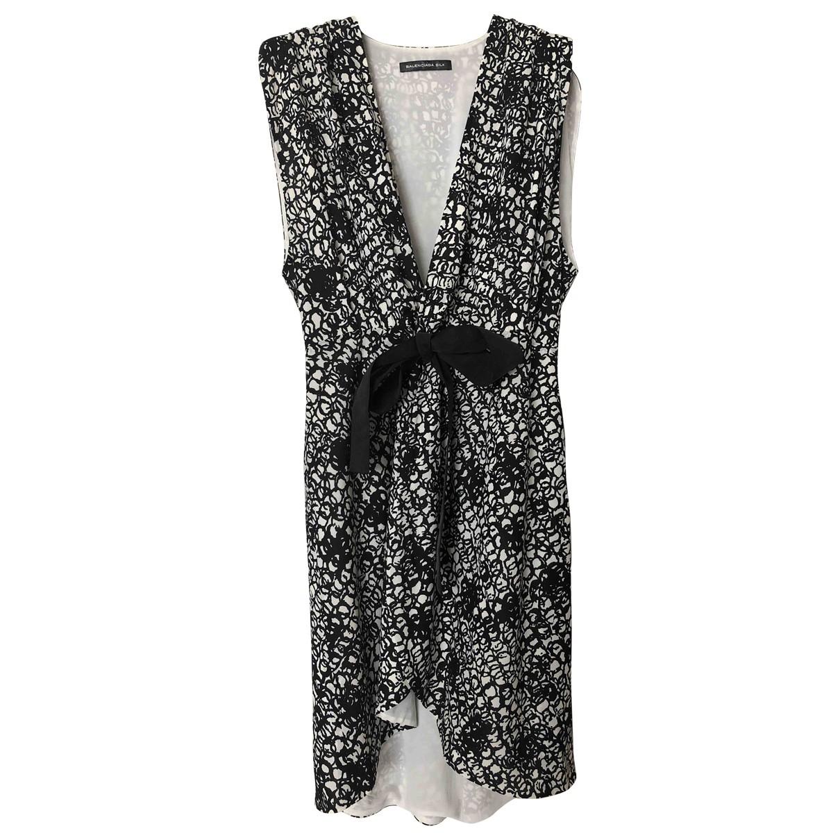 Balenciaga \N Black Silk dress for Women 40 FR