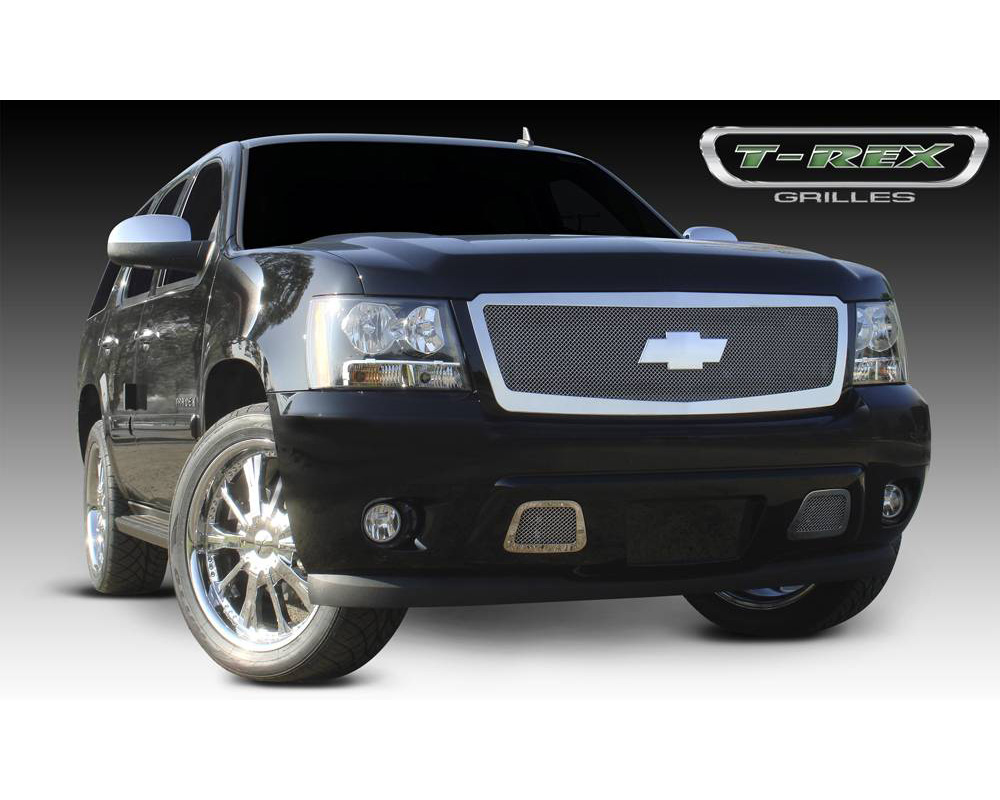 2007-2013 Avalanche, 07-14 Sub/Tahoe Upper Class Grille, Polished, 1 Pc, Insert - PN #54052