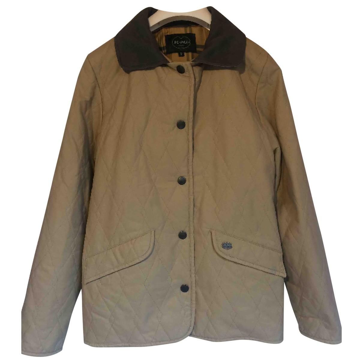 Le Chameau \N Beige Cotton jacket for Women S International