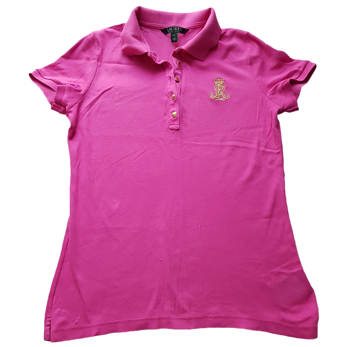 Lauren Ralph Lauren \N Pink Cotton  top for Women M International