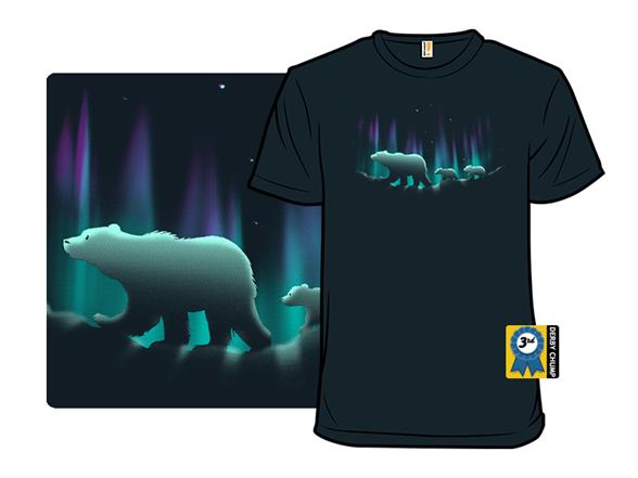 Aurora Bearealis T Shirt
