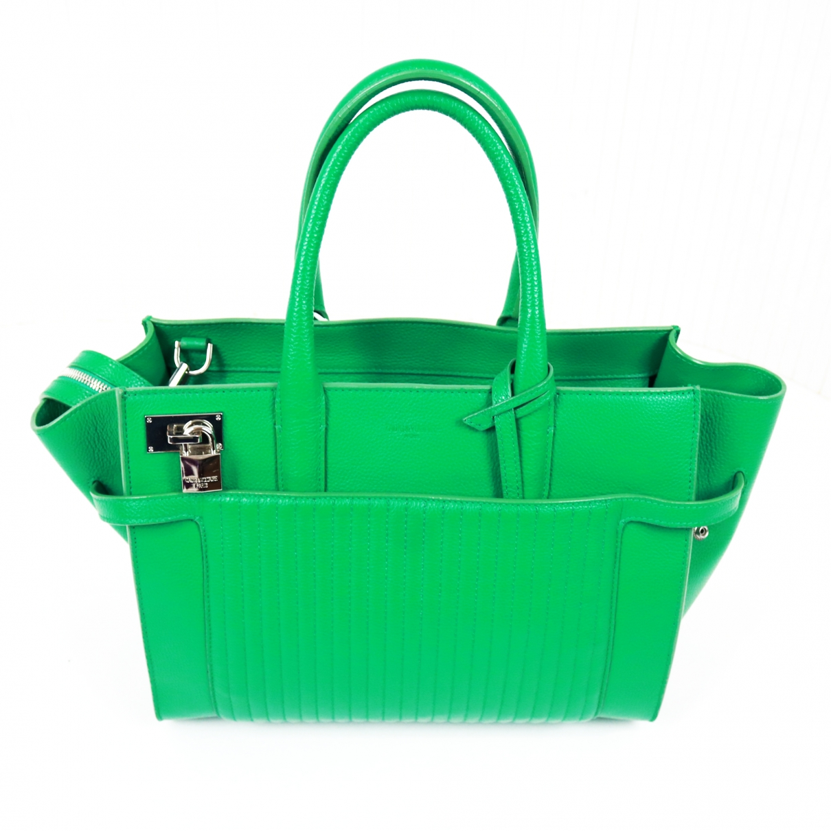 Zadig & Voltaire Candide Green Leather handbag for Women \N