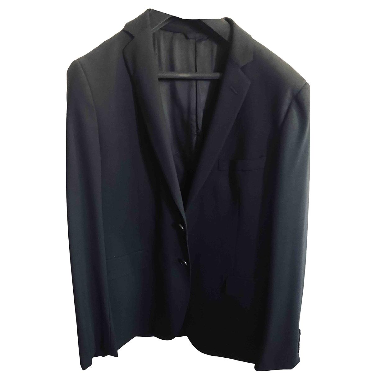 Tonello \N Black Wool Suits for Men 52 IT
