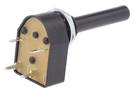 Lorlin DP Rotary Switch, 4 A @ 250 V ac, Through Hole (5)
