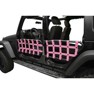 DirtyDog 4x4 Door Nets for Olympic 4x4 Tube Doors, Pink - D/DJ4TN07OYPK