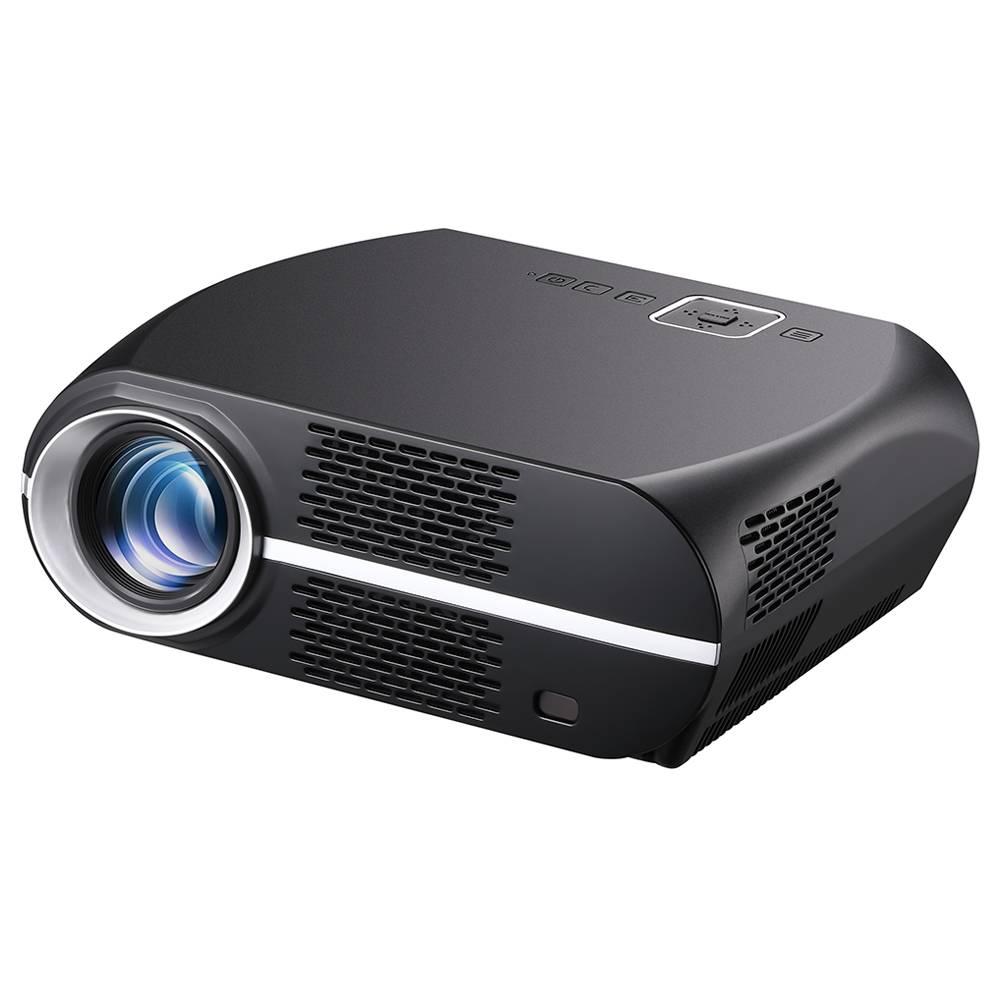 VIVIBRIGHT GP100 720P Linux LED Projector 3500 Lumens Black
