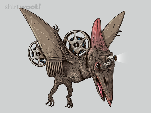 Pterodactyl Projector T Shirt