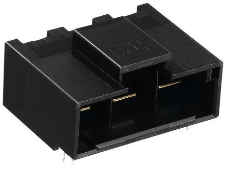 Hirose , DF60, 60, 2 Way, 1 Row, Right Angle PCB Header (5)