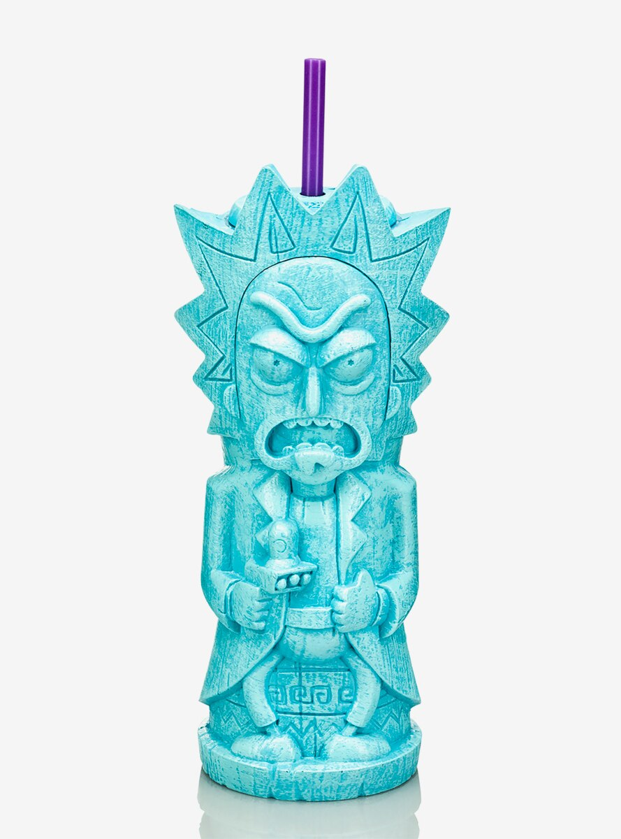 Geeki Tikis Rick and Morty Rick Tiki Tumbler