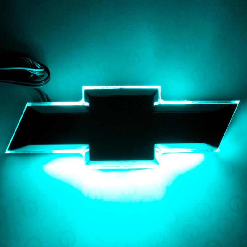 Oracle Lighting 3084-010 Illuminated Bowtie - Carbon Flash Metallic (GAR501) - Dual Intensity - Aqua