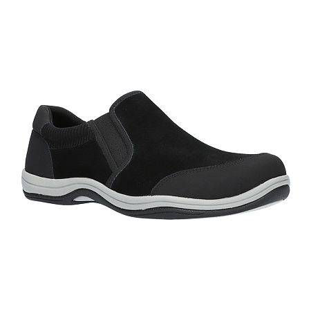 Easy Street Womens Infinity Slip-On Shoe, 11 Wide, Black