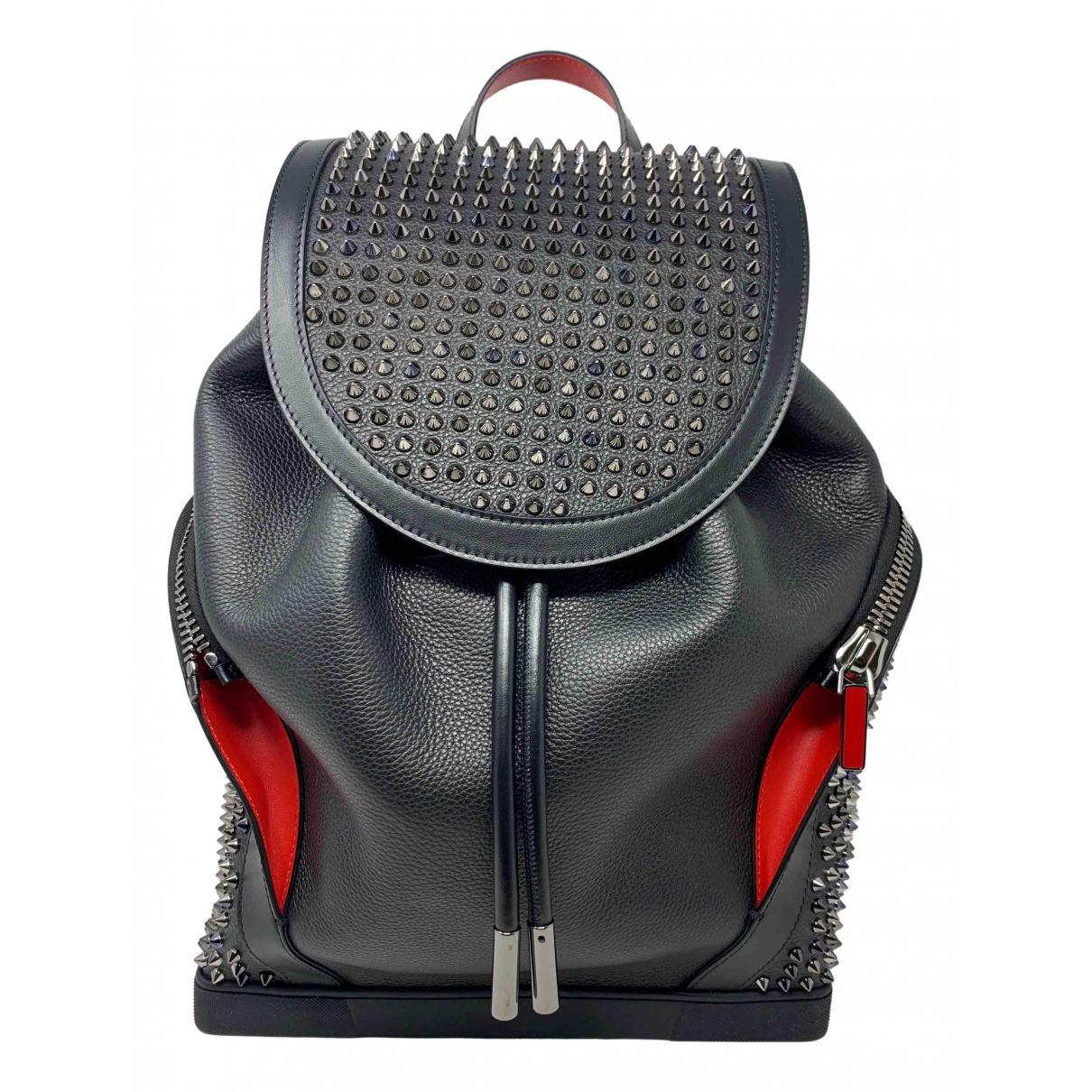 Christian Louboutin \N Black Leather bag for Men \N