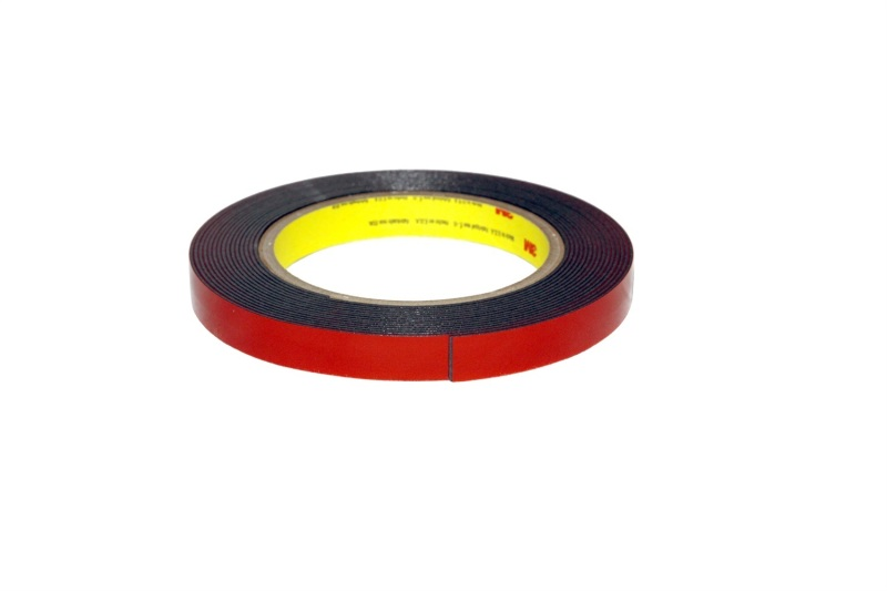 AVS 98650 Universal (Oem Approved Foam Tape) 3M Smoke Foam Tape Roll - Smoke