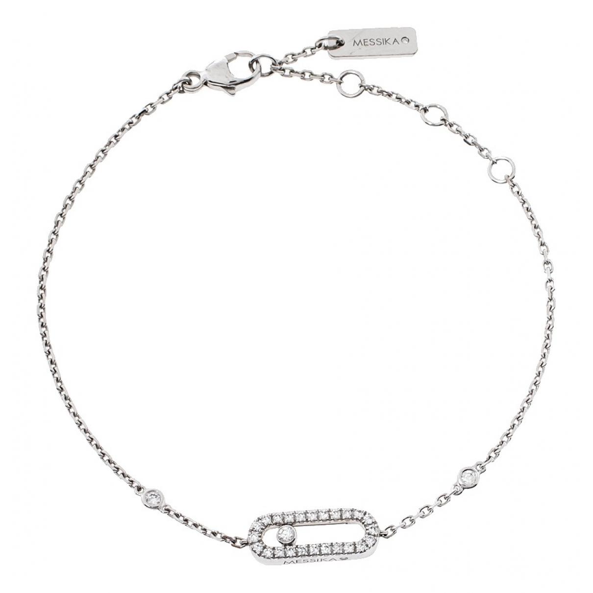 Messika Move Joaillerie White gold bracelet for Women \N