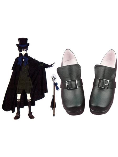 Milanoo Black Butler Kuroshitsuji Ciel Halloween Cosplay Shoes Halloween