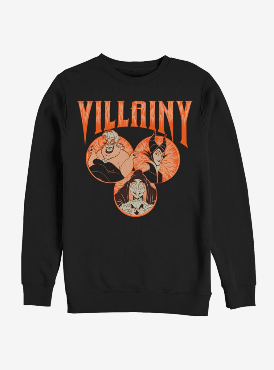 Disney Villains Evil Trifecta Sweatshirt