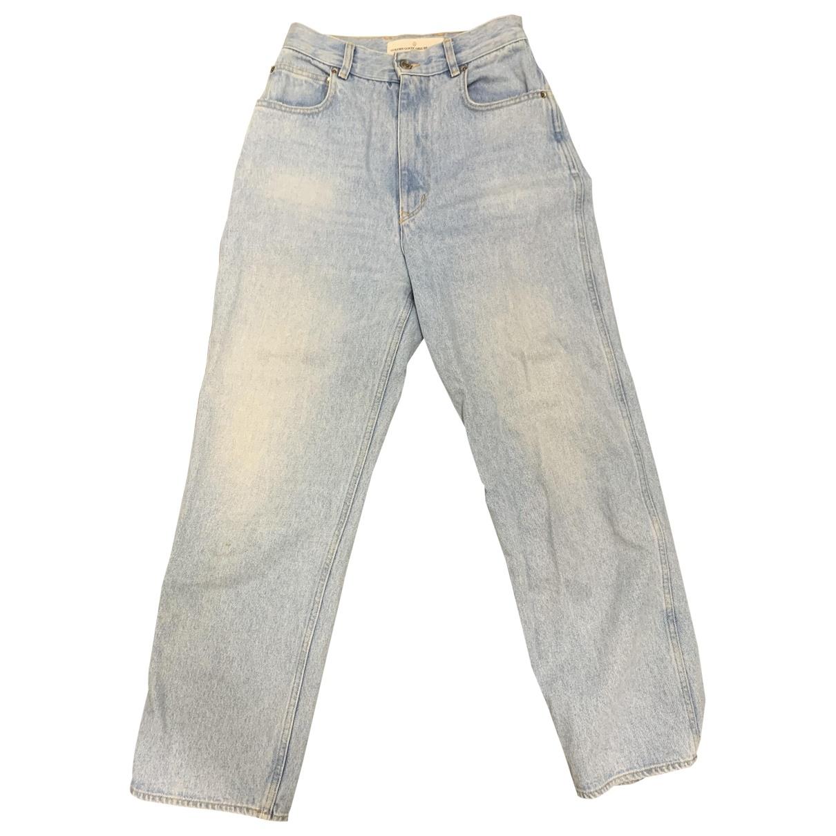 Golden Goose \N Blue Denim - Jeans Jeans for Women 27 US