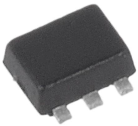 ON Semiconductor ON Semi 200 (Recurrent Peak)mA, Dual Diode, 6-Pin SOT-563 BAS16DXV6T1G (4000)