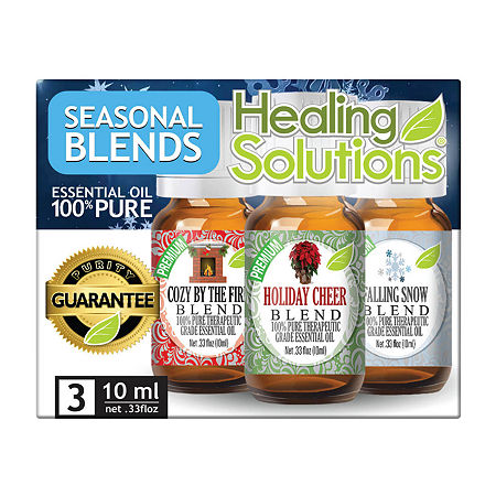 Healing Solutions Season Blends 3 - Cozy; Hol Cheer; Snow Essential Oil, One Size , No Color Family