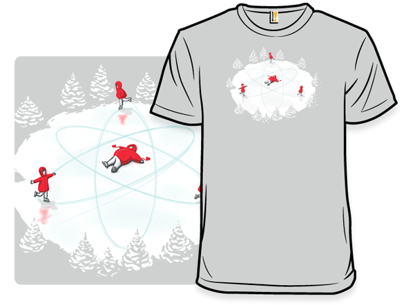 Snow Angel Particle T Shirt