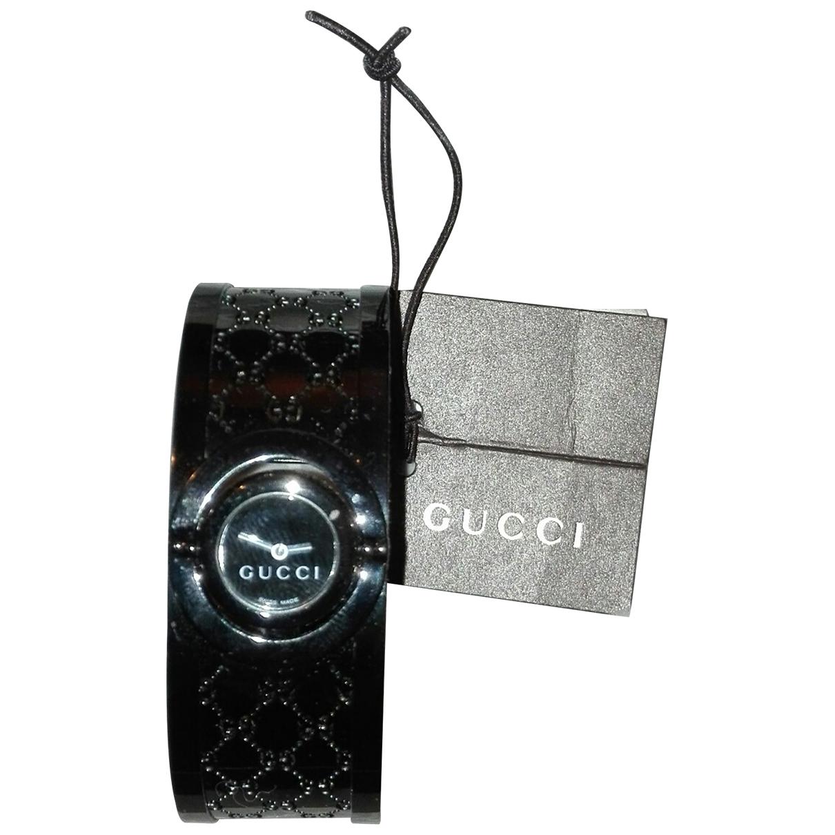 Gucci Twirl Black Steel watch for Women \N