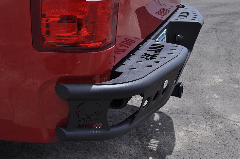 Addictive Desert Design Dimple R Rear Bumper GMC Sierra 1500 07-13