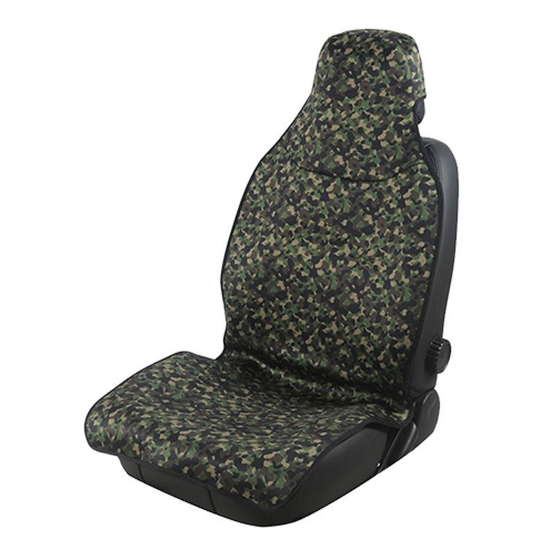 2 Front Seat Covers Super Waterproof Material Outdoor Camouflage Sports Style Easy Installation And Good Waterproofing Performance Effectively Isolate