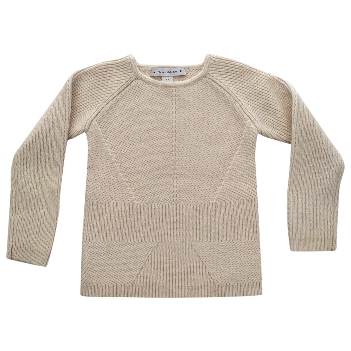 Oscar & Valentine \N White Wool Knitwear for Kids 6 years - up to 114cm FR